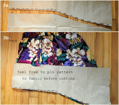 How to make a pencil skirt. Diy Fishtail Skirt - Step 3