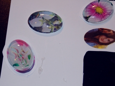 How to make a cabochon ring. Personalized Cabochon Rings - Step 2