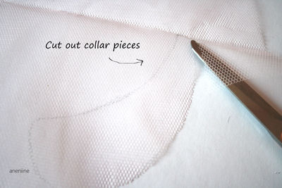 How to make a beaded collar. Beaded Collar Necklace - Step 3
