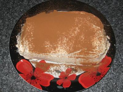 How to make a tiramisu. Tiramisu Layer Cake - Step 5
