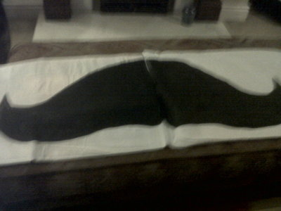How to make a shaped cushion. Mustache Pillow Cases  - Step 5