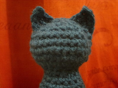 How to make a cat plushie. Blue Cat - Step 4