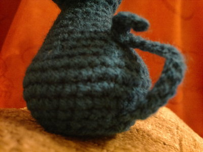 How to make a cat plushie. Blue Cat - Step 5