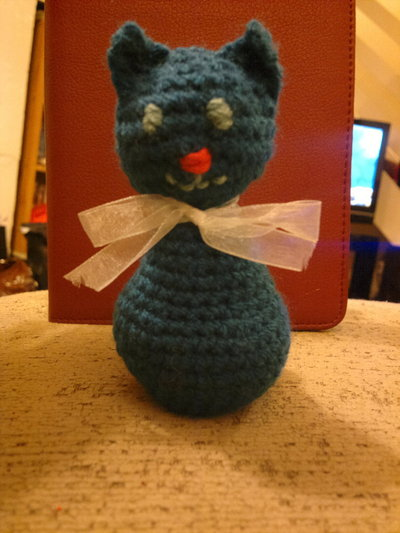 How to make a cat plushie. Blue Cat - Step 6
