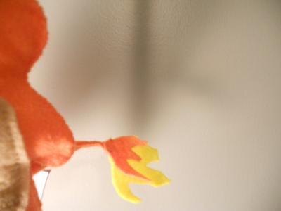How to make a Pokemon plushie. Charmander Plushie - Step 14