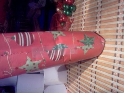 How to make a gift bag. Christmas Grab Bags - Step 4