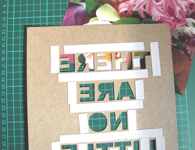 How to make a piece of quote art. Floral Quote Artwork - Step 4