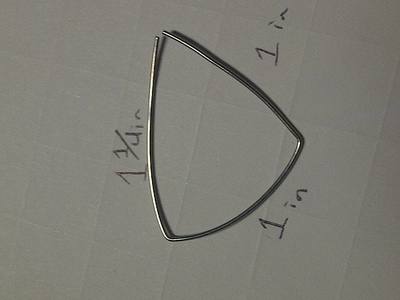 How to make a wire necklace. How To Make A Navi Necklace - Step 4