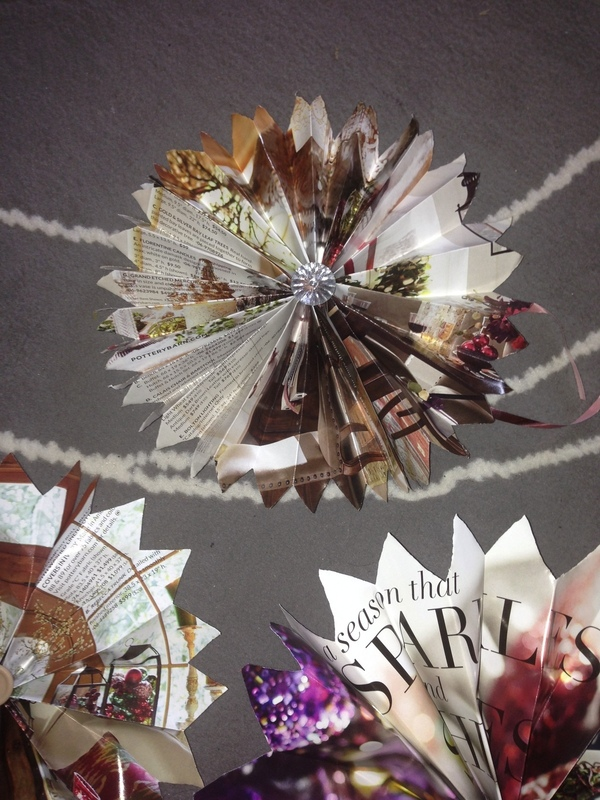 Restoration Hardware Or Other Catalogs Stars Holiday Decorations Or Use As Bows How To