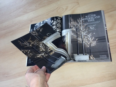 How to create art / a model. Restoration Hardware Or Other Catalogs ~ Stars ~ Holiday Decorations Or Use As Bows - Step 3