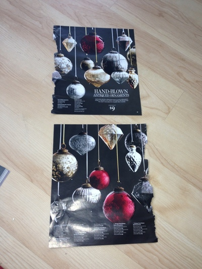How to create art / a model. Restoration Hardware Or Other Catalogs ~ Stars ~ Holiday Decorations Or Use As Bows - Step 4