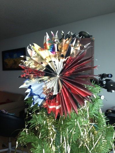 How to create art / a model. Restoration Hardware Or Other Catalogs ~ Stars ~ Holiday Decorations Or Use As Bows - Step 14