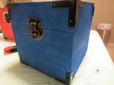 How to make a box. Diy Cushioned Jewlery Boxes - Step 2