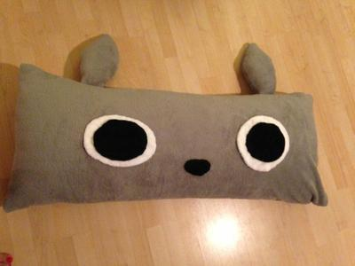 How to make a bed. Totoro Bed - Step 4