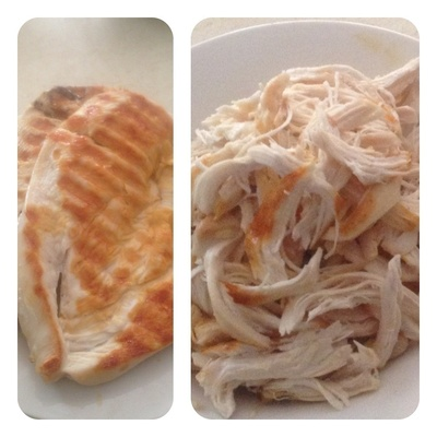 How to cook noodles. Low Fat Sweet Chilli Chicken & Noodle Salad - Step 2