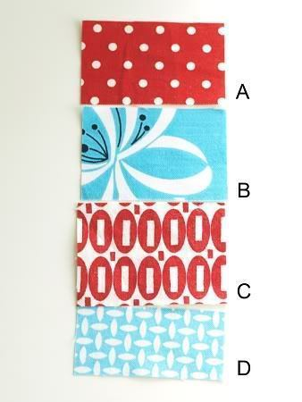 How to sew a fabric coaster. Fair And Square Patchwork Coasters - Step 3