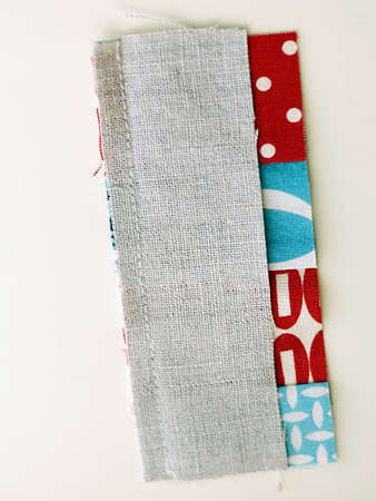How to sew a fabric coaster. Fair And Square Patchwork Coasters - Step 7