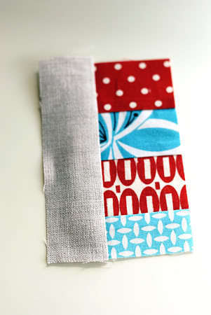 How to sew a fabric coaster. Fair And Square Patchwork Coasters - Step 8