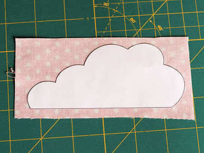 How to sew an applique tote. Cloudy Day Applique Tote - Step 6