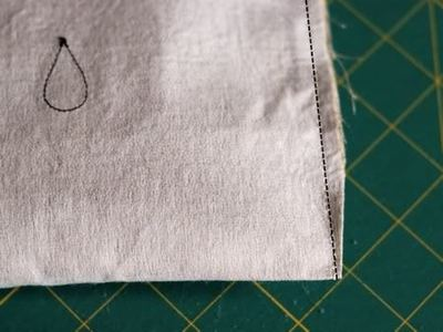 How to sew an applique tote. Cloudy Day Applique Tote - Step 11