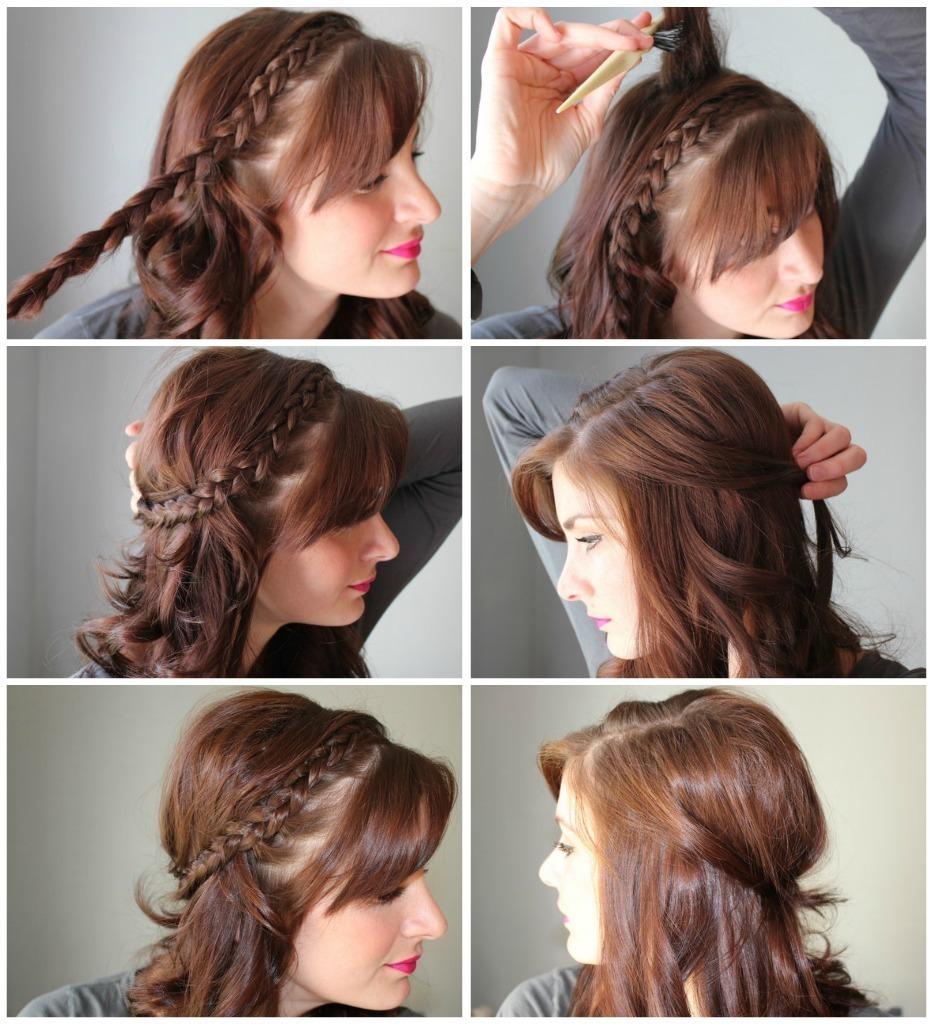 Half Up Side Dutch Braid How To Style A Dutch Braid Hair Styling On Cut Out Keep