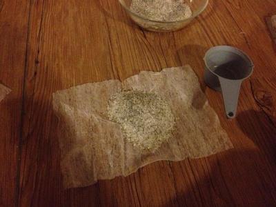 How to make a bath salt. Mostly Organic Bath Salts - Step 2