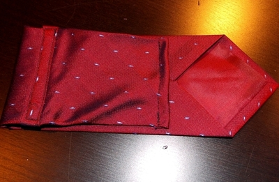 How to recycle a neck tie pouch. Phone Case From A Tie - Step 13