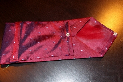 How to recycle a neck tie pouch. Phone Case From A Tie - Step 15