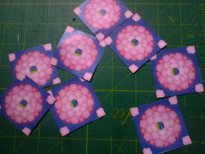 How to fold an origami shape. Original Tea Bag Folded Star - Step 1