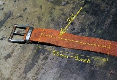 How to make a braided leather bracelet. Braided Leather Bracelet Diy - Step 2