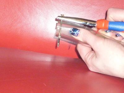 How to make a wall tidy storage unit. Yarn Storage - Step 3
