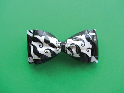 How to make a bow tie. Double Bow Tie - Step 7