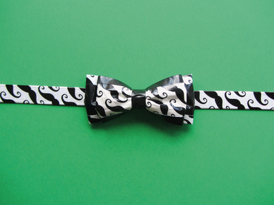 How to make a bow tie. Double Bow Tie - Step 8