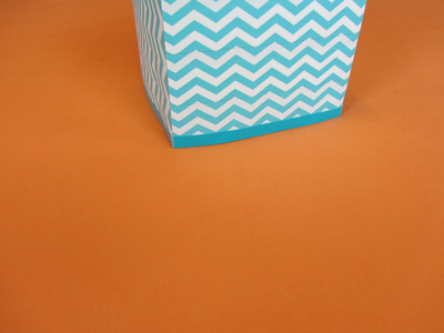 How to make a tissues holder. Tissue Box Cover - Step 12