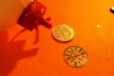 How to make a coin ring. Clock Ring Out Of A Coin. - Step 2
