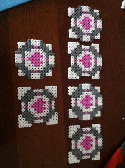 How to make a pegboard bead box. Hama Bead Portal Box  - Step 4