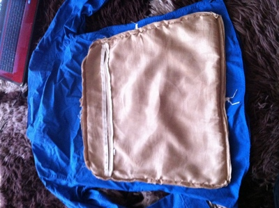 How to make a recycled cushion. Shirt To Cushion Cover - Step 2