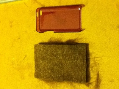How to sew a fabric character pouch. Kuriboh I Pod Case - Step 3