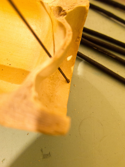 How to make an incense. Bamboo Incense Holder - Step 5