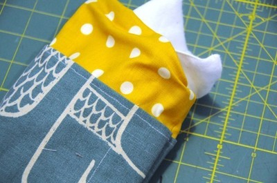 How to make a pda. A Simple Kindle Fire Slip Case - Step 10