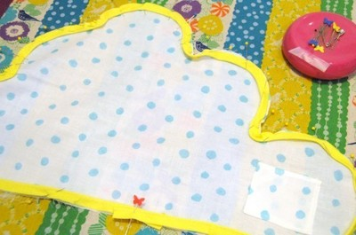 How to make a shaped cushion. Diy Cloud Pillow: Featuring A Hideaway For Lost Teeth - Step 6