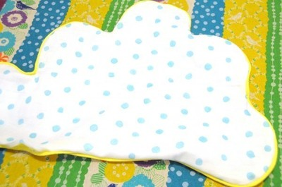 How to make a shaped cushion. Diy Cloud Pillow: Featuring A Hideaway For Lost Teeth - Step 8