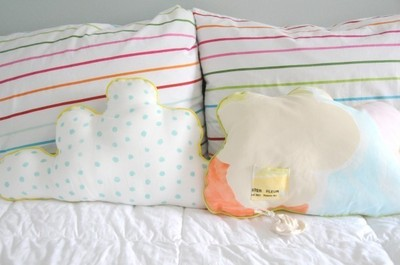 How to make a shaped cushion. Diy Cloud Pillow: Featuring A Hideaway For Lost Teeth - Step 17