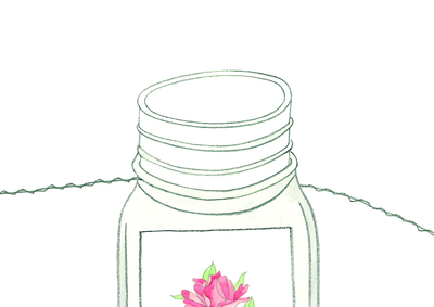 How to make a hanging planter. Hanging Spice Jars - Step 4