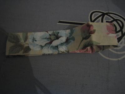 How to make an a-line skirt. Flower High Waist Skirt W/ Bow Detail - Step 4