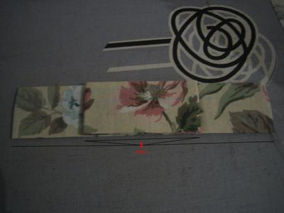 How to make an a-line skirt. Flower High Waist Skirt W/ Bow Detail - Step 5