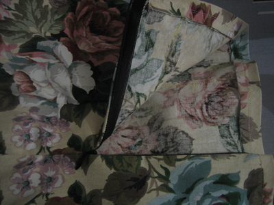 How to make an a-line skirt. Flower High Waist Skirt W/ Bow Detail - Step 7