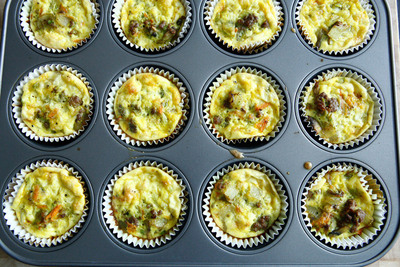 How to bake a savoury muffin. Bison And Egg Muffins - Step 11