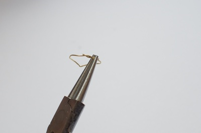 How to make a metal ring. Diy Chevron Rings - Step 7