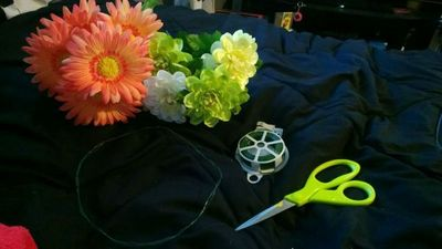 How to make a flower crown. Forever Flower Headband  - Step 1